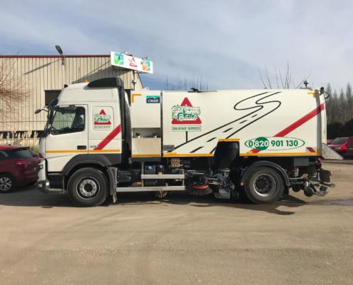 Balayeuse THP - Fraisage Services