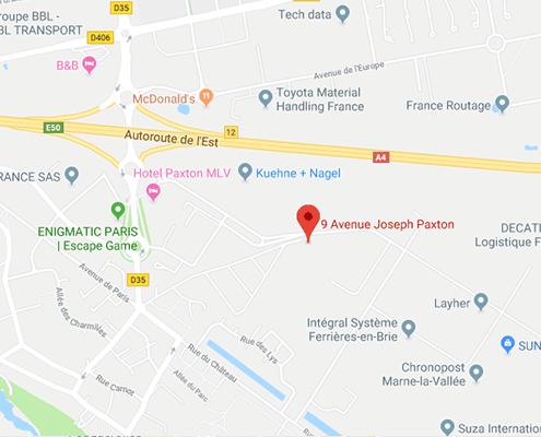 Fraisage Services avenue Joseph Paxton - Z.A.C. du Bel Air - Ferrières-en-Brie