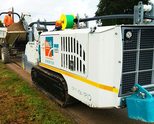 Riv 104 avec roue Trcity - Fraisage Services